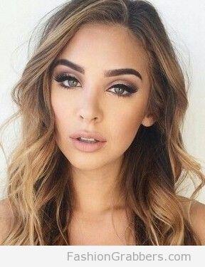 makeup ideas for green eyes blonde hair