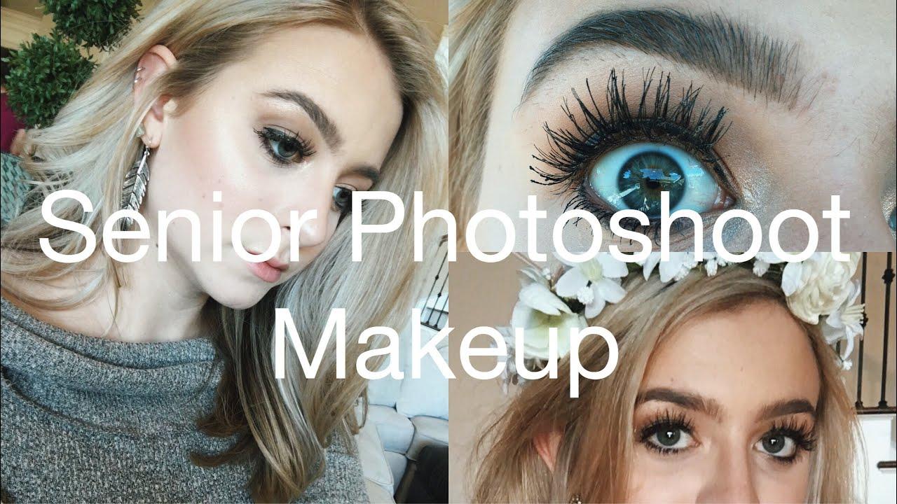 senior pics makeup ideas