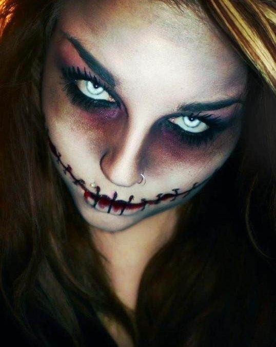 Trends : Best scary demon halloween makeup ideas