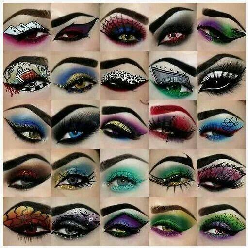 Ideas : 17+ Best cool eye makeup ideas for halloween