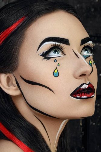 simple halloween makeup ideas 2020