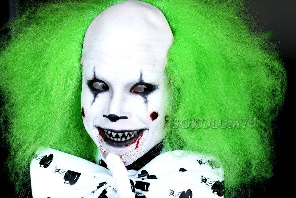 Ideas : Best scary clown makeup ideas for guys