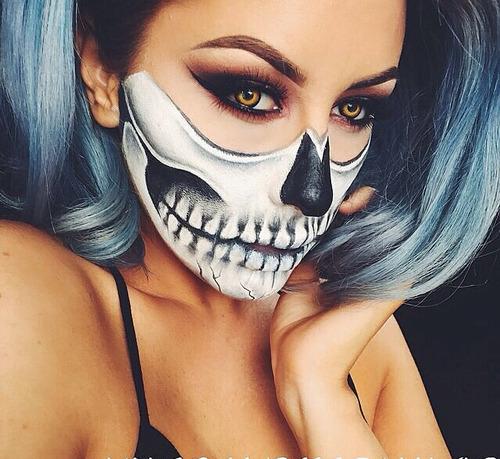 scary halloween makeup ideas tumblr