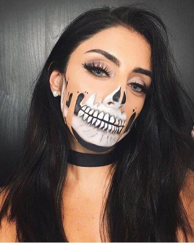 Trends : Best scary halloween makeup ideas tumblr