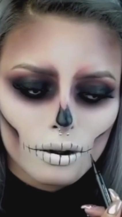 halloween makeup easy 2021