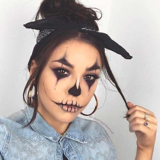 Ideas : 25 Best cool clown makeup ideas