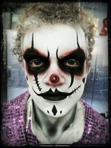 Collection : 23 Best scary clown makeup ideas for guys