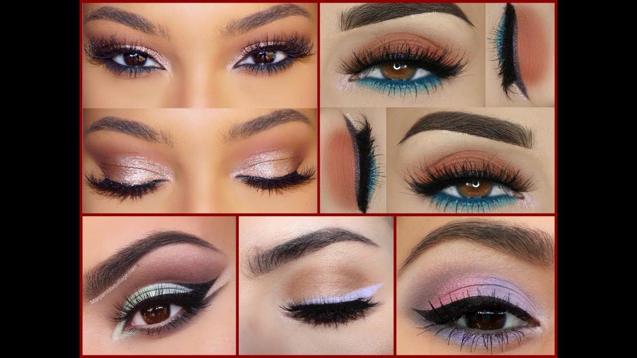 eyeshadow ideas for brown eyes