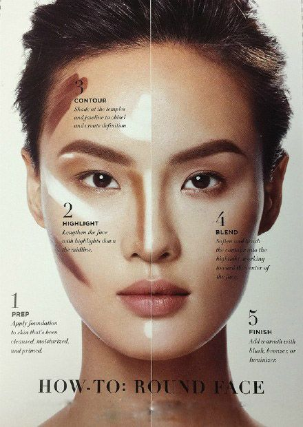makeup ideas for oval faces