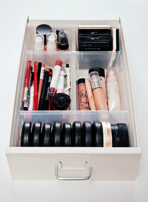 storage ideas for makeup cheap