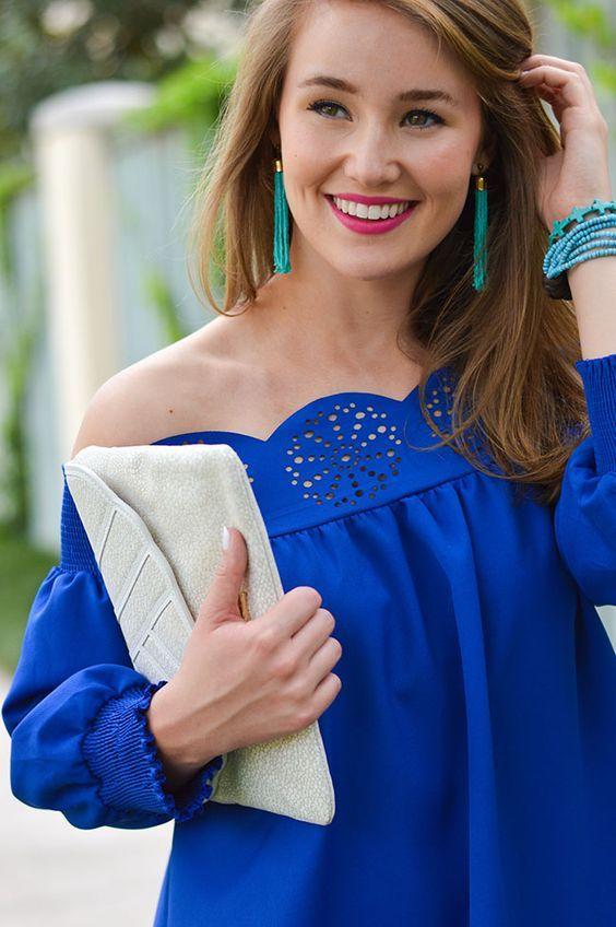 royal blue dress makeup ideas