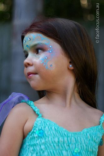 Makeup inspiration : Best simple fairy makeup ideas for kids