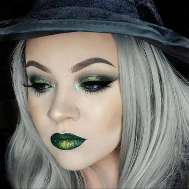 makeup ideas for witch face