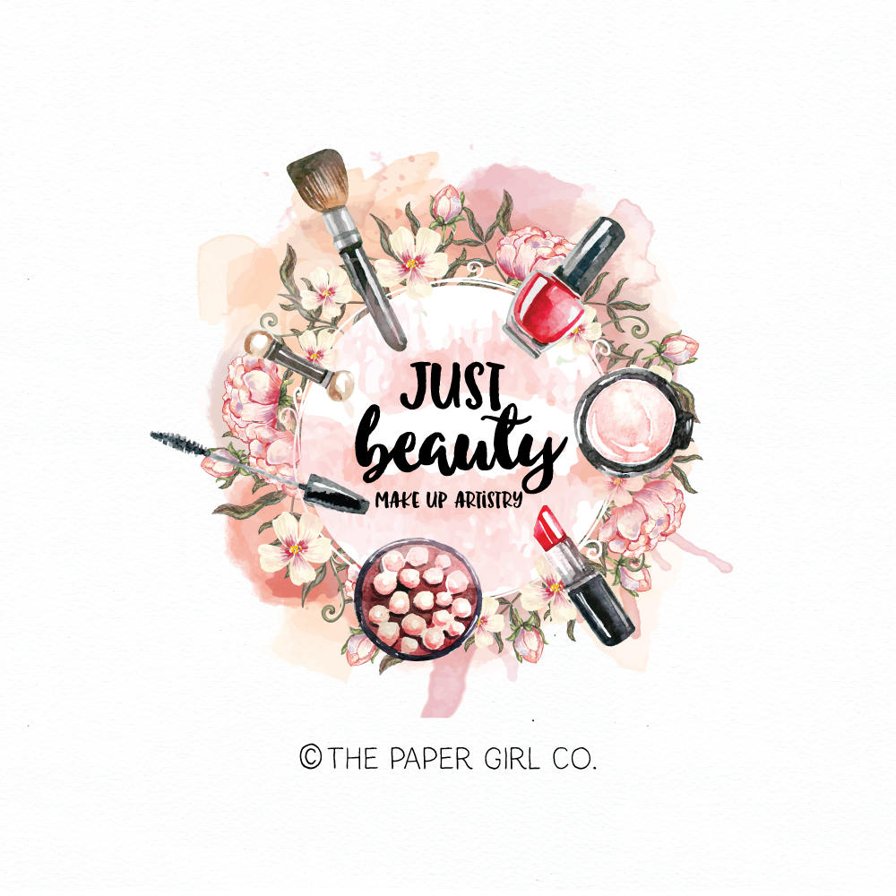 logo design for makeup artist