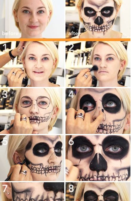 Makeup trends : Best scary diy makeup ideas