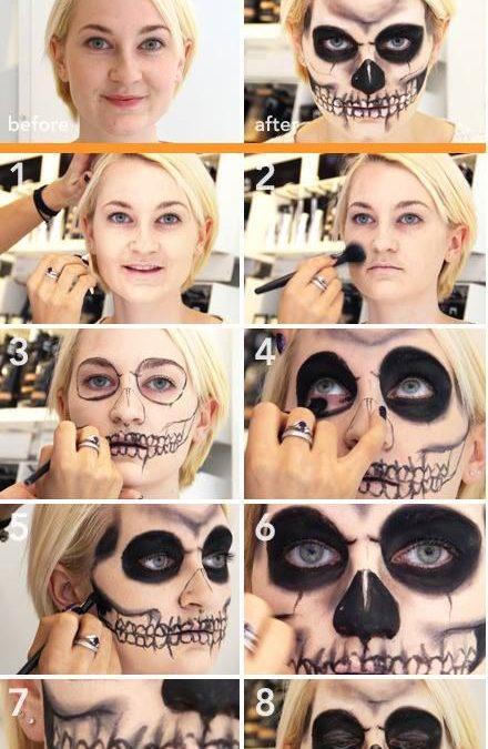 Makeup trends : Best scary makeup ideas tutorial