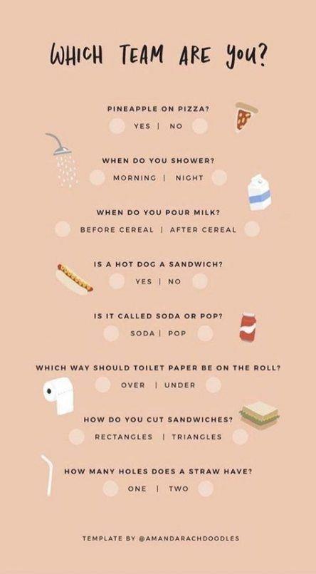 school makeup quiz ideas