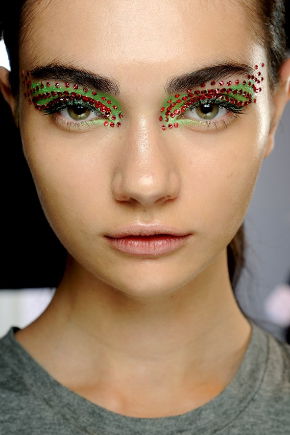 sequin makeup ideas