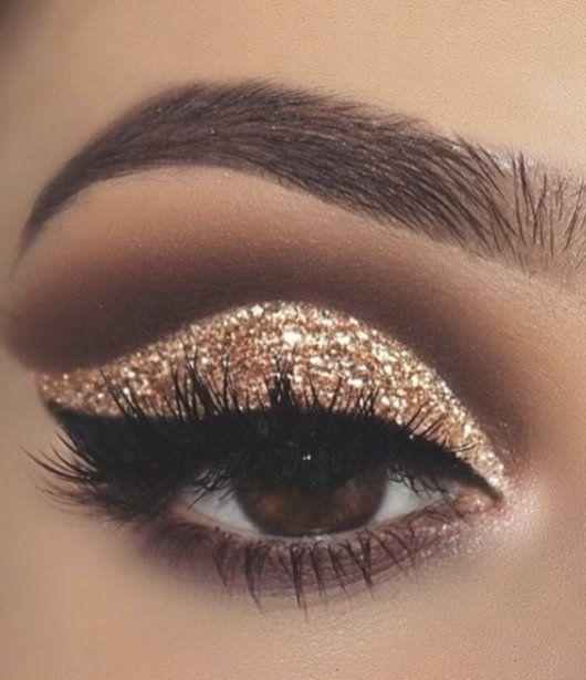 Collection : Best simple glitter makeup ideas