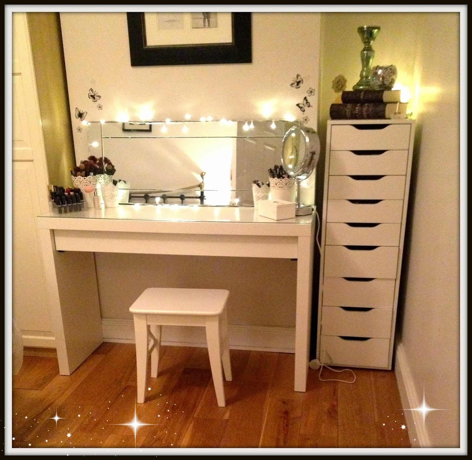 makeup table ideas for bedroom