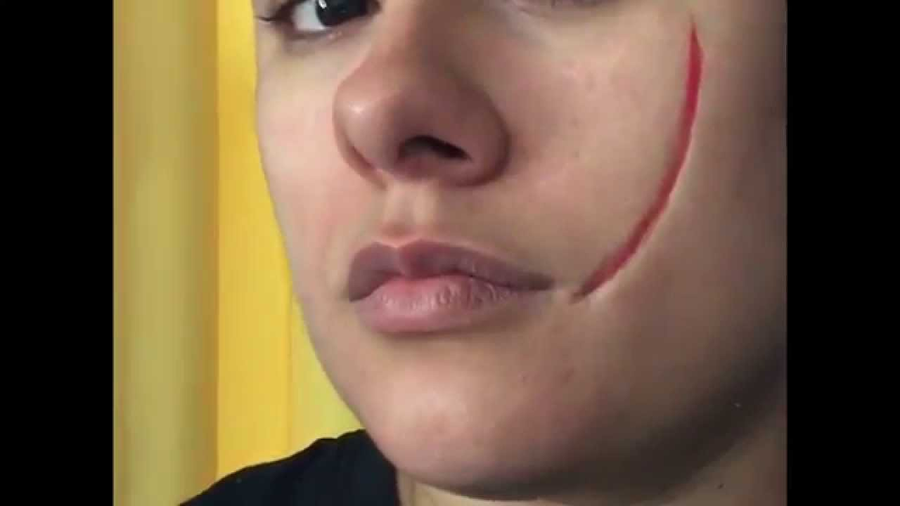 easy fx makeup tutorial