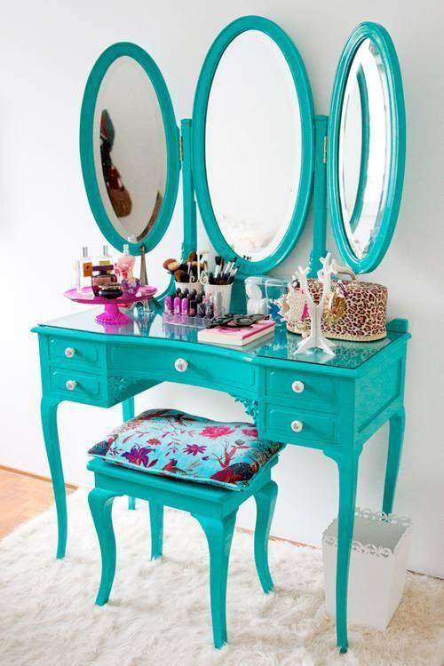 paint ideas for makeup vanity