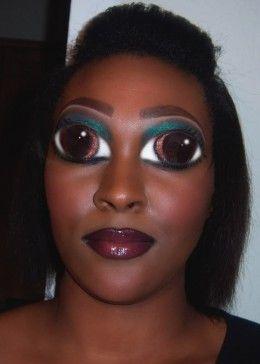 Collection : Best halloween makeup ideas for dark skin