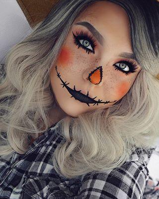 scarecrow makeup ideas cute