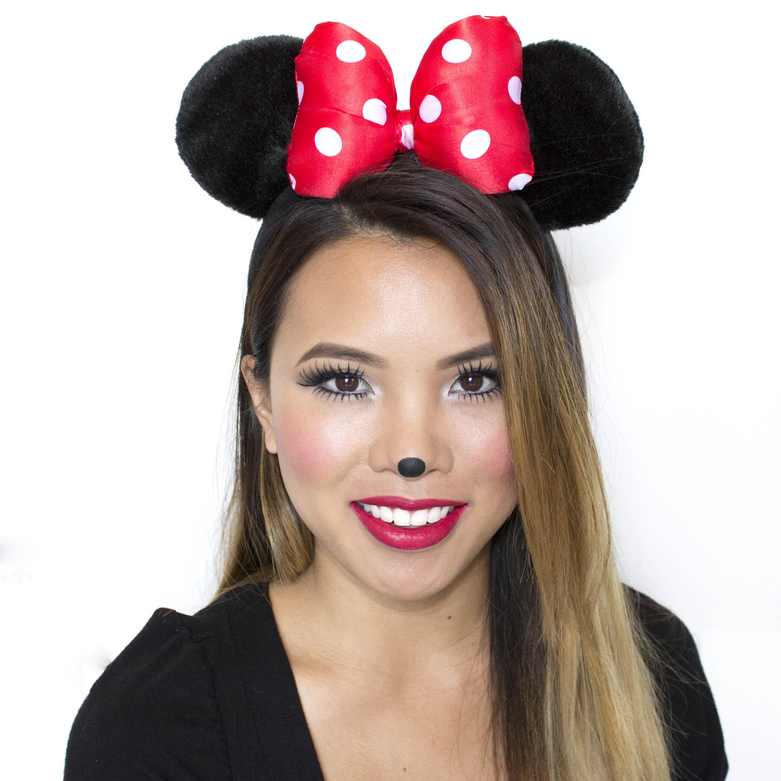 minnie mouse costume makeup ideas