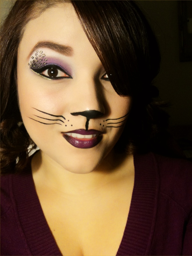 cute cat makeup ideas for halloween