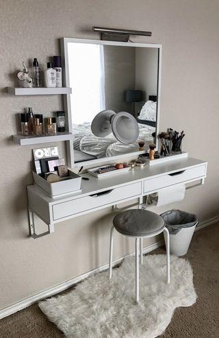 makeup table ideas ikea