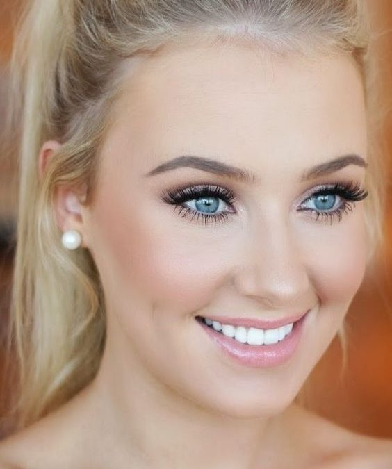 Makeup trends : 17+ Best eye makeup tips for blue eyes and blonde hair