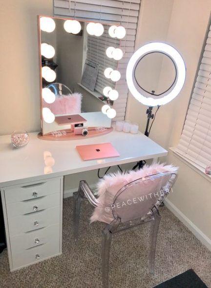 vanity ideas for makeup