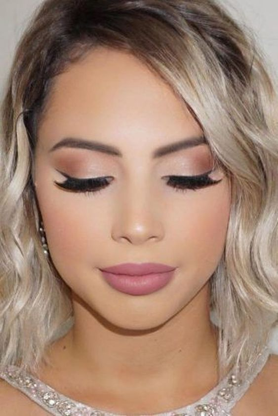 simple formal makeup ideas