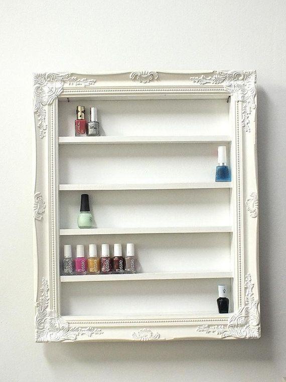 shabby chic makeup storage ideas