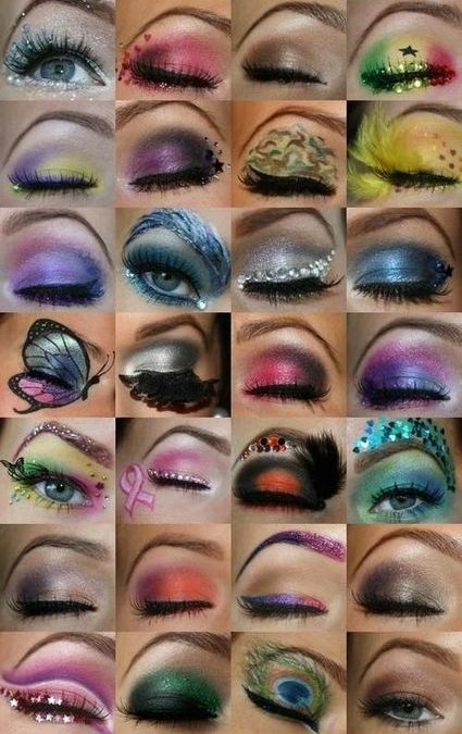 Trends : 25 Best cool eye makeup ideas