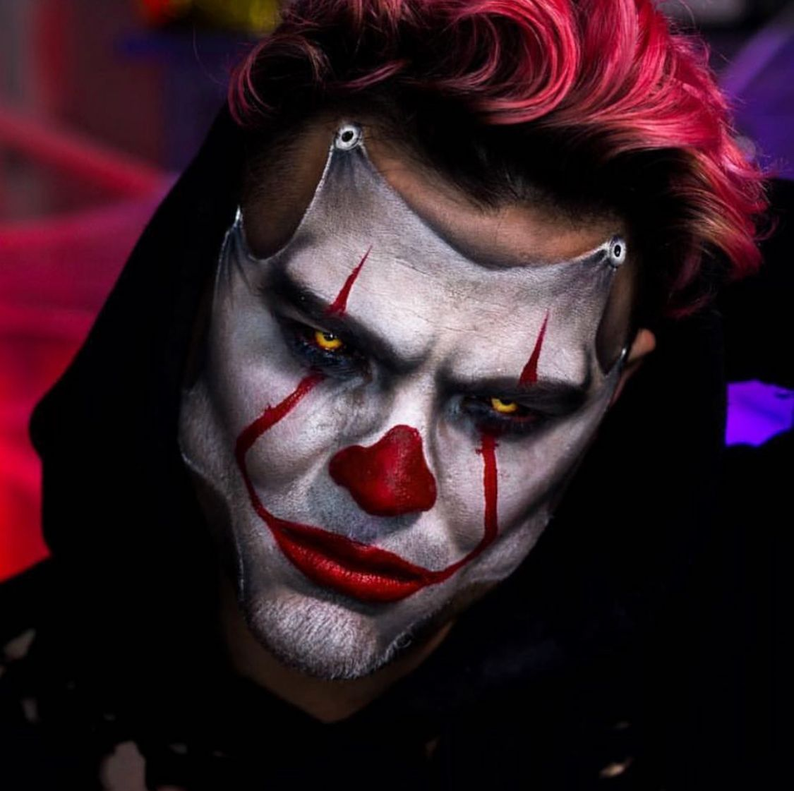 scary clown makeup ideas for guys