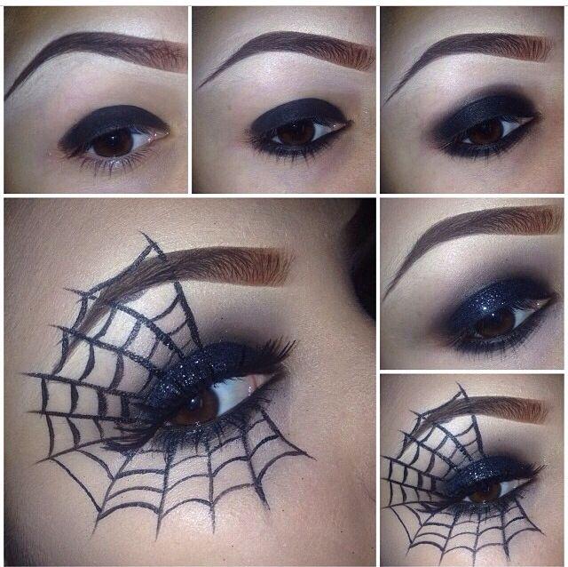 simple halloween makeup ideas for work