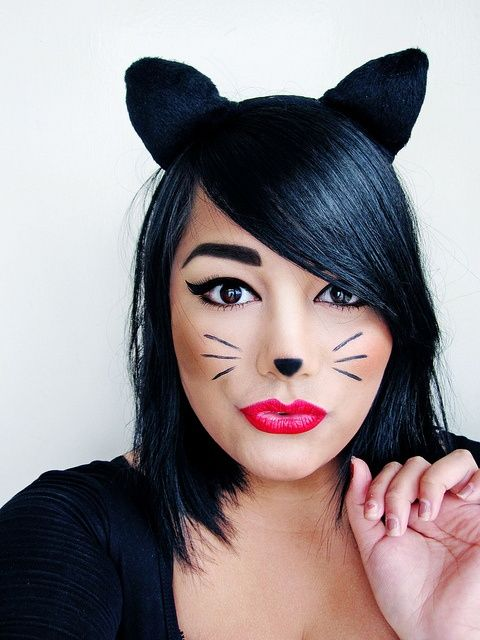 Inspo : 23 Best makeup ideas for cat face