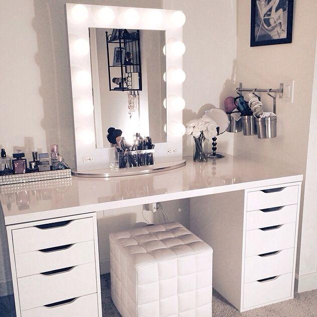 Makeup inspiration : Top makeup table ideas ikea