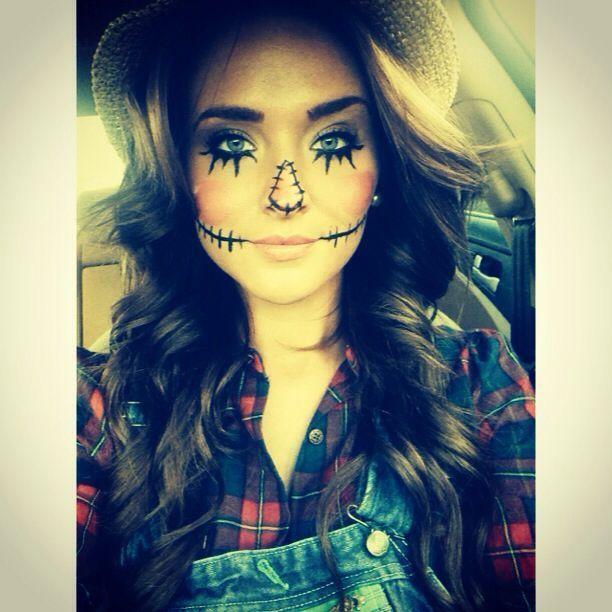 scarecrow makeup ideas women