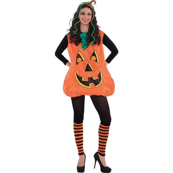 sexy pumpkin halloween makeup ideas