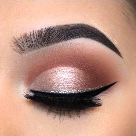 Collection : Best silver eyeshadow light makeup ideas