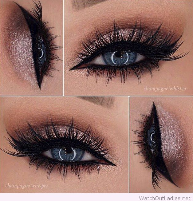prom makeup ideas for blue eyes