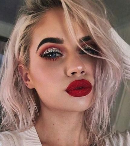 Collection : Best homecoming makeup ideas for red dress