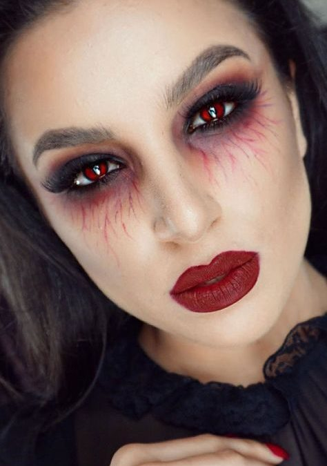 Makeup trends : Best ideas for vampire makeup