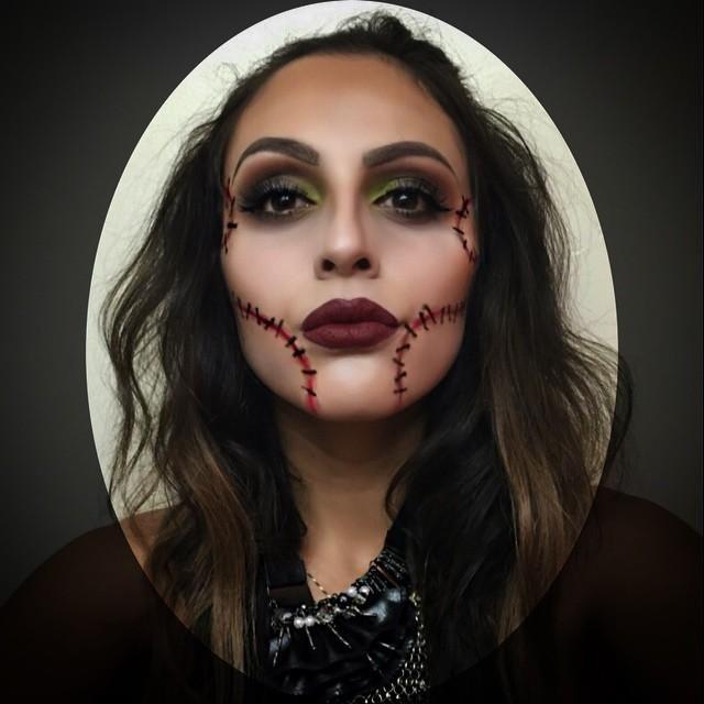 Makeup inspiration : Top halloween ideas makeup easy