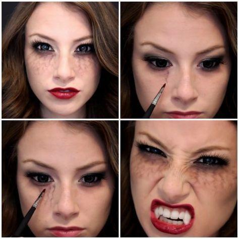 Makeup trends : Best makeup ideas for halloween vampire