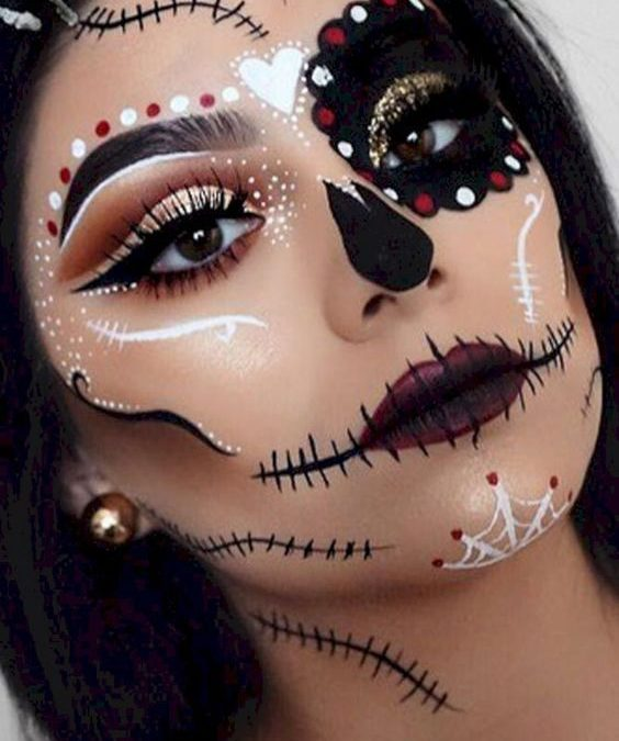 Trends : Top cute witch costume makeup ideas
