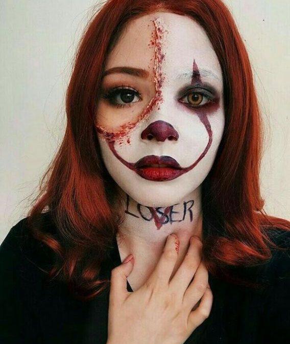 Makeup trends : Best scary halloween makeup easy to do